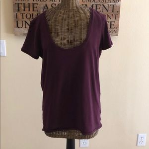 Lululemon Short Sleeve Tee Top 6 M